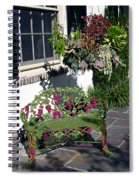 Iron Garden Bench Spiral Notebook
