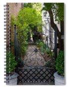 Iron Gate Alley Spiral Notebook