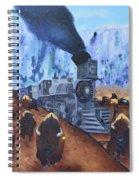 Iron Horse Spiral Notebook