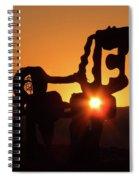 Iron Horse Heart Warming Spiral Notebook