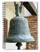 Iron Mission Bell Spiral Notebook