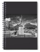 Iron Mke Statue - Parris Island Spiral Notebook