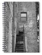 Iron Steps Spiral Notebook
