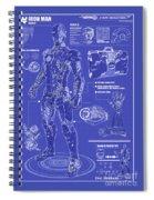Ironman Patent Spiral Notebook
