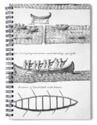 Iroquois Canoes Spiral Notebook