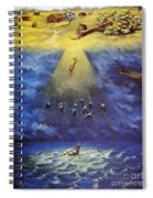 Iroquois Creation Myth Spiral Notebook