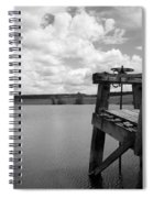 Irrigation Pond Spiral Notebook