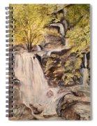 Iruppu Falls  Spiral Notebook