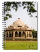 Isa Khan Tomb Burial Sites Spiral Notebook