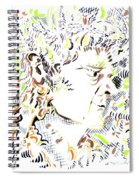 Isaac Newton Spiral Notebook
