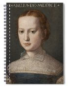 Isabella De Medici  Spiral Notebook