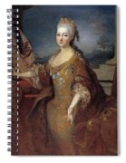 Isabella Louise Of Orleans. Queen Of Spain Spiral Notebook
