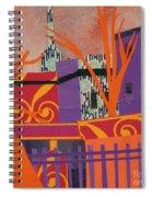Isabella's Garden Spiral Notebook