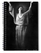 Isadora Duncan (1877-1927) Spiral Notebook