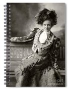 Isadore Rush Stage Star Spiral Notebook