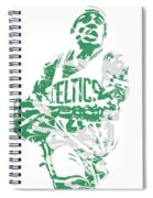 Isaiah Thomas Boston Celtics Pixel Art 15 Spiral Notebook