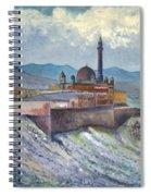 Ishak Pasa Palace Dogubayarzit Anatolia Turkey 2006  Spiral Notebook