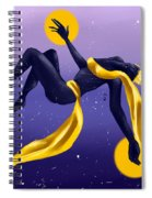 Ishtar Embraced By The Void Spiral Notebook