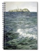 Isla De Mouro-santander Spiral Notebook