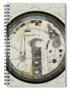 Islamic World Map, 10th Century Spiral Notebook