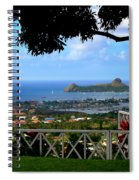 Island Bay Spiral Notebook