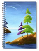 Island Carnival Spiral Notebook