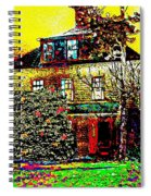 Island Cottage Spiral Notebook