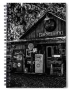 Island Grove Service Station Spiral Notebook