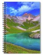 Island Lake Spiral Notebook