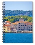 Island Of Krapanj Waterfront View Spiral Notebook
