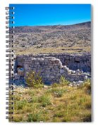 Island Of Krk Old Stone Ruins Spiral Notebook