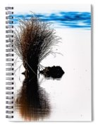 Island Of Reflection Spiral Notebook