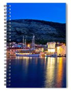 Island Of Vis Evening View Spiral Notebook