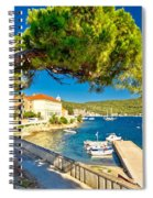 Island Of Vis Seafront Walkway View Spiral Notebook