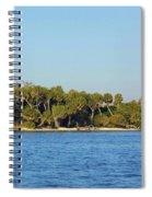 Island Off Of Cedar Key Spiral Notebook