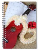 Island Style Christmas Spiral Notebook