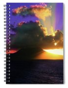 Island Sunrise Spiral Notebook