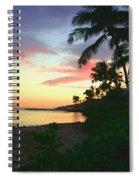 Island Sunset Spiral Notebook