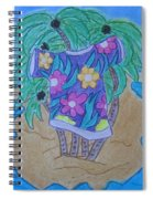 Island T-shirt Spiral Notebook