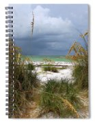 Island Trail Out To The Beach Spiral Notebook