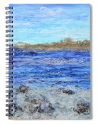 Islands And Surf Spiral Notebook