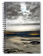 Islands In The Clouds Spiral Notebook
