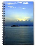 Islands In The Sunrise Tropical Paradise Spiral Notebook