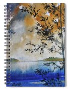 Islands Of Lake Michigan Spiral Notebook