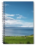 Isle Of Arran Under Cloud Spiral Notebook