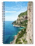 Isle Of Capri Spiral Notebook