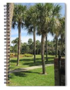 Isle Of Palms Spiral Notebook