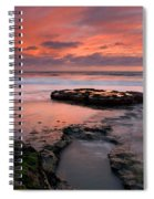 Isle Of The Setting Sun Spiral Notebook