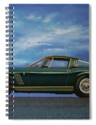 Iso Grifo Gl 1963 Painting Spiral Notebook