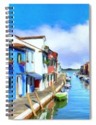 Isola Di Burano Spiral Notebook